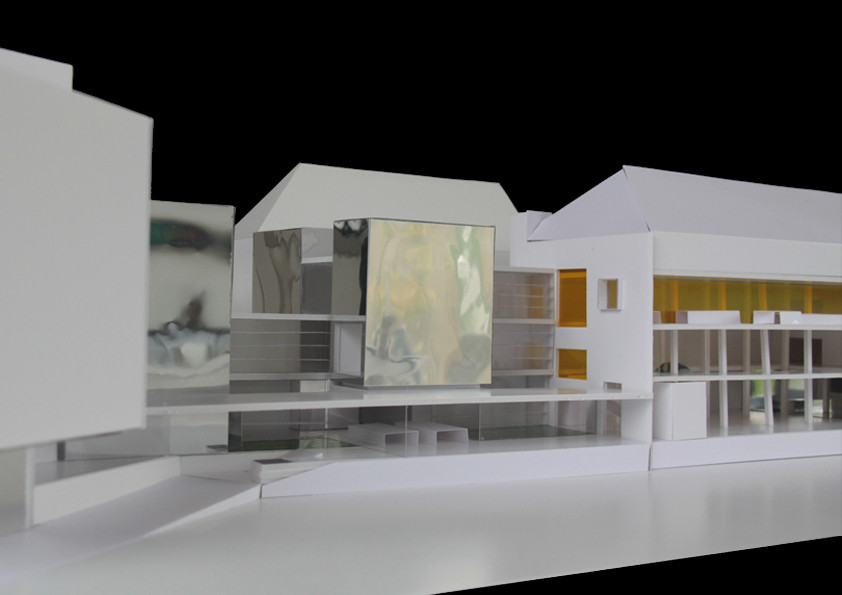 H&V Holoffe Vermeersch Architecture | Mundaneum. Rénovation et extension du musée