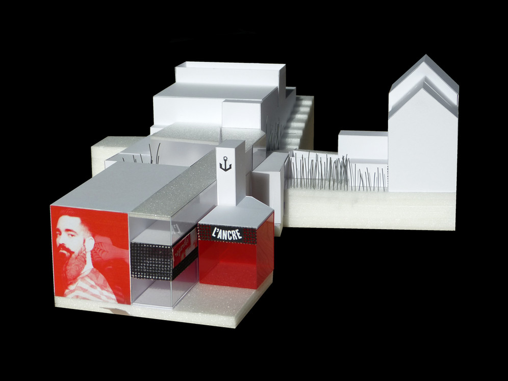 H&V Holoffe Vermeersch Architecture | Théâtre de l'Ancre