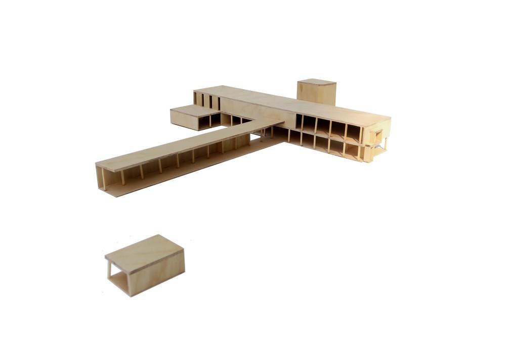 Atelier d'architecture Pierre Hebbelinck - Pierre de Wit | Rénovation du Musée des Beaux arts de Tournai