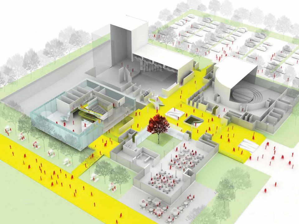 Babel architectes, scénographes | Maison de la Culture et bibliothèque