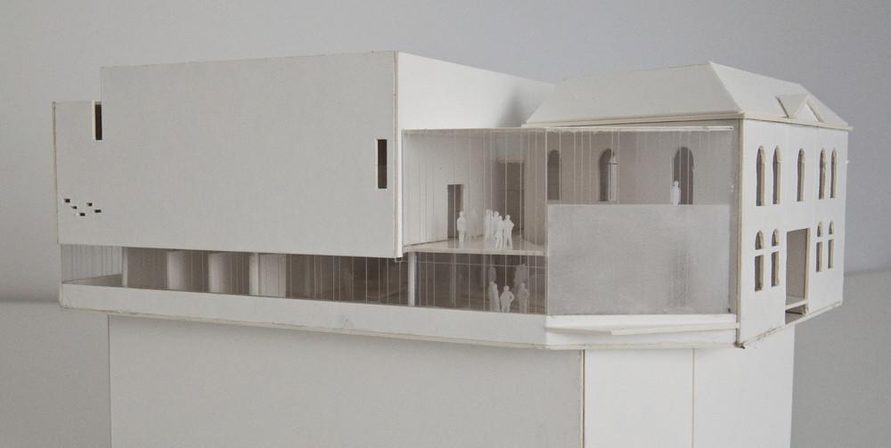 Atelier d'architecture Daniel Delgoffe | Arsonic - Ensemble Musiques Nouvelles, construction et rénovation de l'ancienne caserne