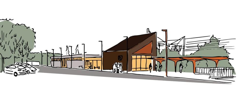 Dessin et Construction   Réhabilitation de la Gare de la Motte