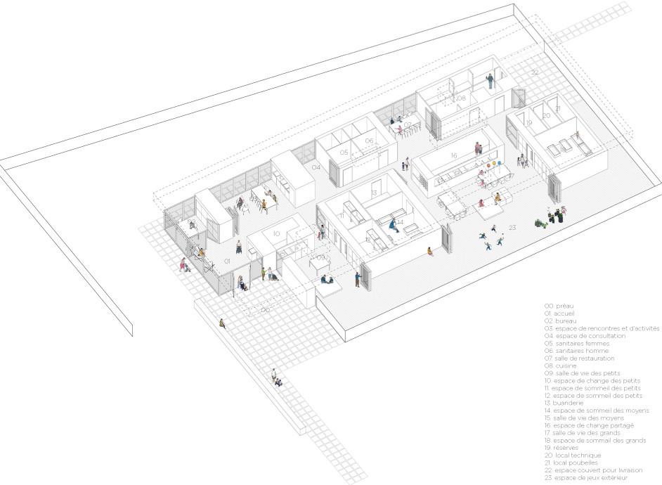Atelier Hart Berteloot (HBAAT) et Atelier Altern Paysagistes