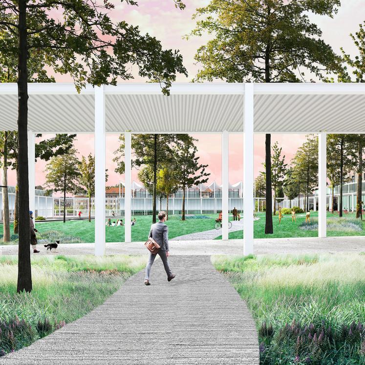 Xaveer De Geyter Architects - Michel Desvigne Paysagiste