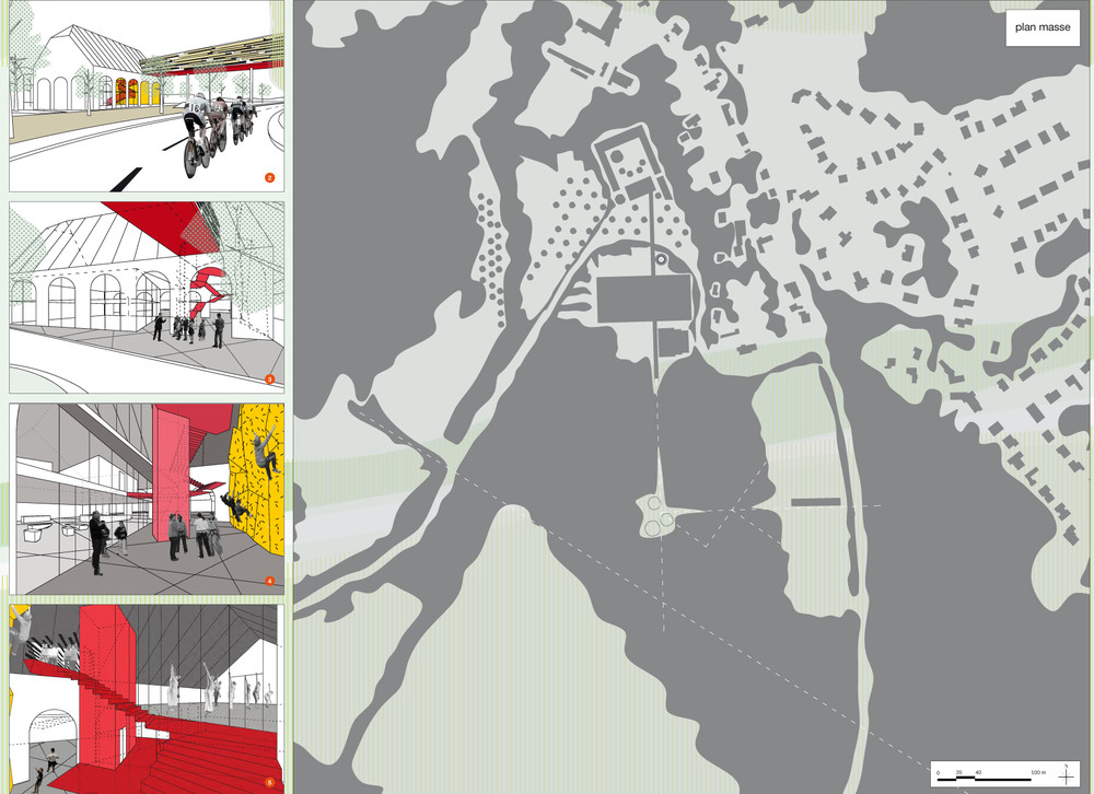 Reservoir A / PEC / Atelier Paysage / ATS / Design Addict