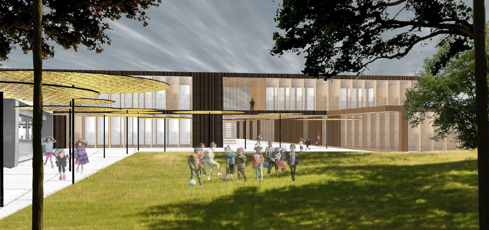 m architecture & V.O. | Ecole fondamentale Philippe Geluck - projet pilote