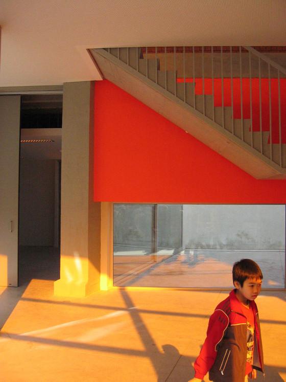 L'école, le lieu, l'artiste © Jean Glibert, artau architectures / Collège Saint-Benoît-Saint-Servais, Liège