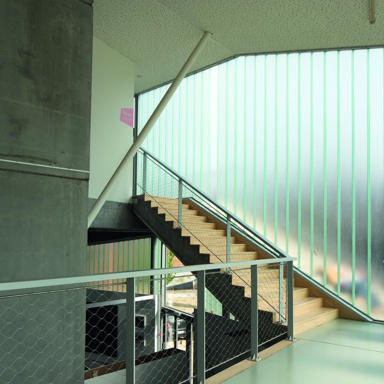 (c) Olivier Cornil / L'Escaut architectures, Weinand