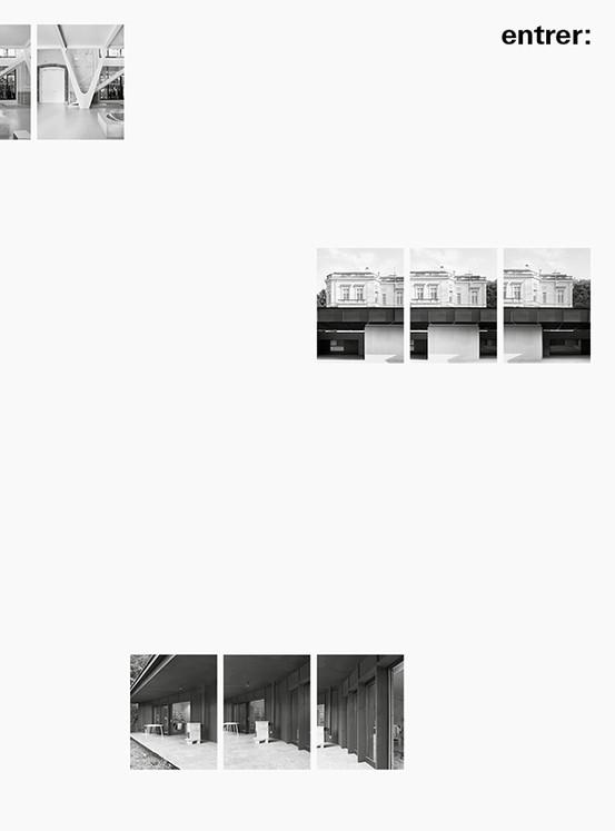 Entrer : Cinq Architectures en Belgique