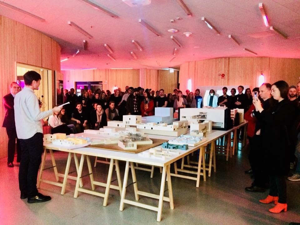 Ecoutez V+ à Stockholm © WBA / V+ architecture documents on five projects, Stockholm, novembre 2017