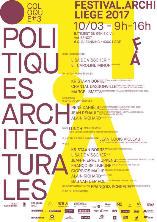 La Cellule architecture à la table des politiques architecturales belges et européennes