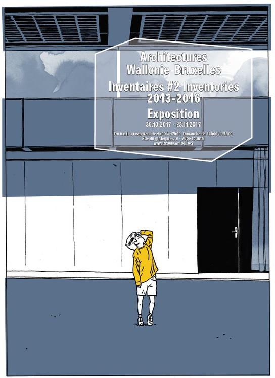 Inventaires #2 à la nouvelle Fac d'archi © Benoît Henken - Centre ADEPS de Spa