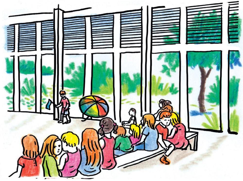 Inventaires # 2 : focus sur les écoles © Lisa Lugrin & Clément Xavier / Ecole communale de Thieusies, Atelier d'architecture Matador