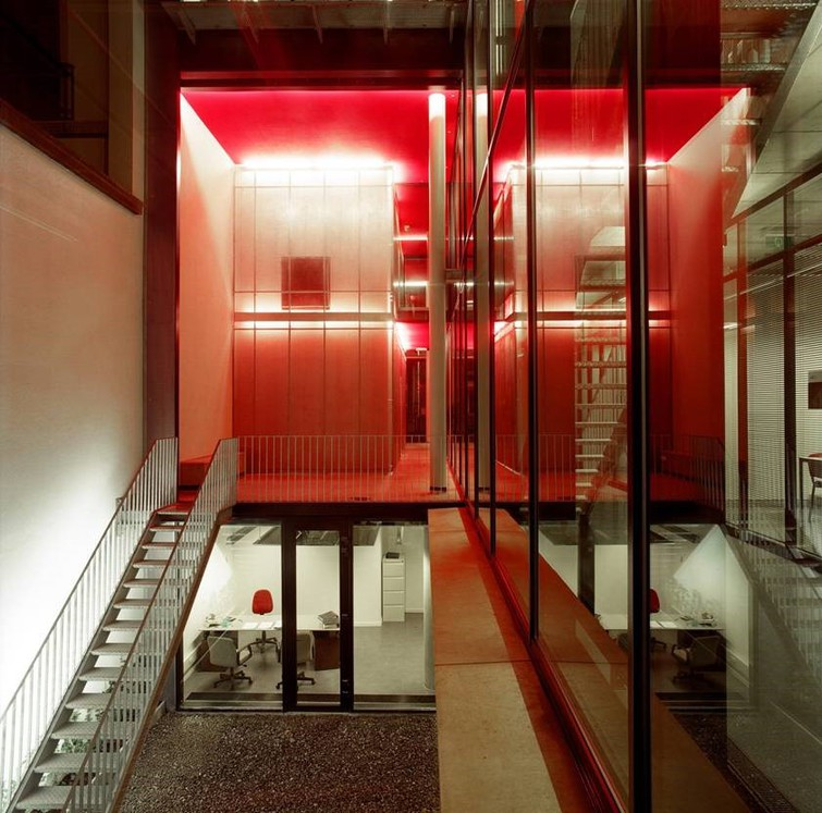 Jean Glibert. Peintre en bâtiment © Jean Glibert, architectesassoc. / Centre interdiocésain Maisin, Bruxelles
