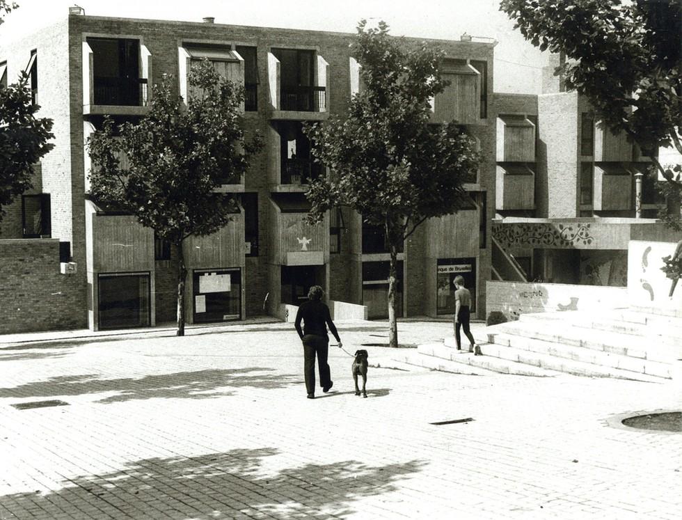 Archidoc #04 : Émile-José Fettweis © GAR / E-J Fettweis, Louvain-la-Neuve, Logements d'étudiants,1970