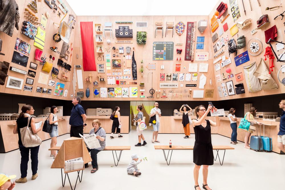 Ecoutez la Biennale 2018 (2/2) © Cyrus Cornut / Lieux Infinis, Pavillon de la France, 2018