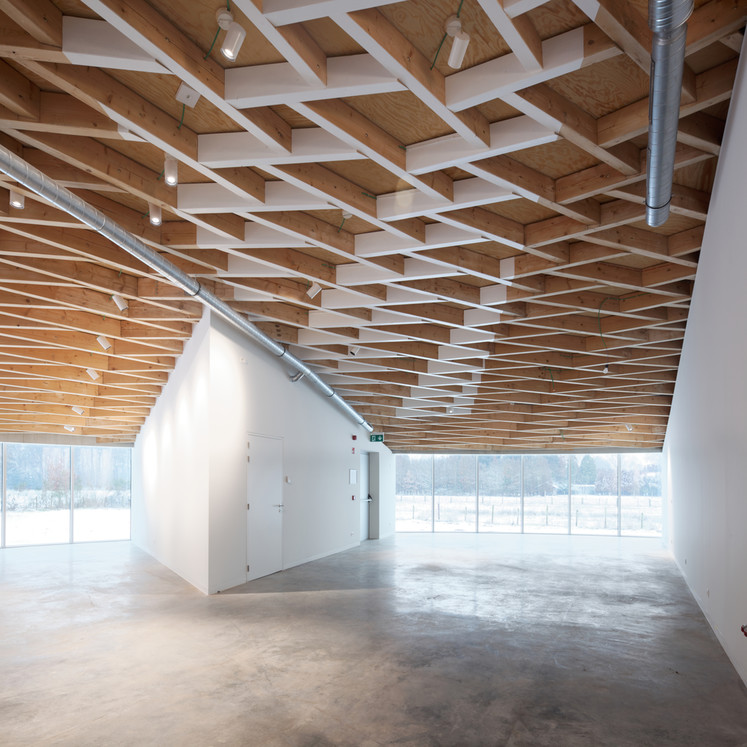 Jean Glibert au Frans Masereel Centrum © Xavier Delory / Frans Masereel Centrum, 2019