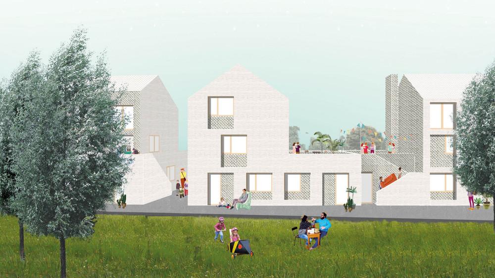 Nouveau quartier par LPP et Pigeon-Ochej