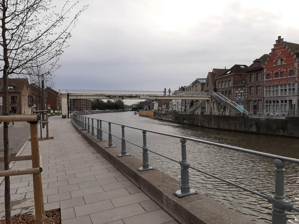 Passerelle de l'Arche : un nouveau pas à franchir © Ville de Tournai