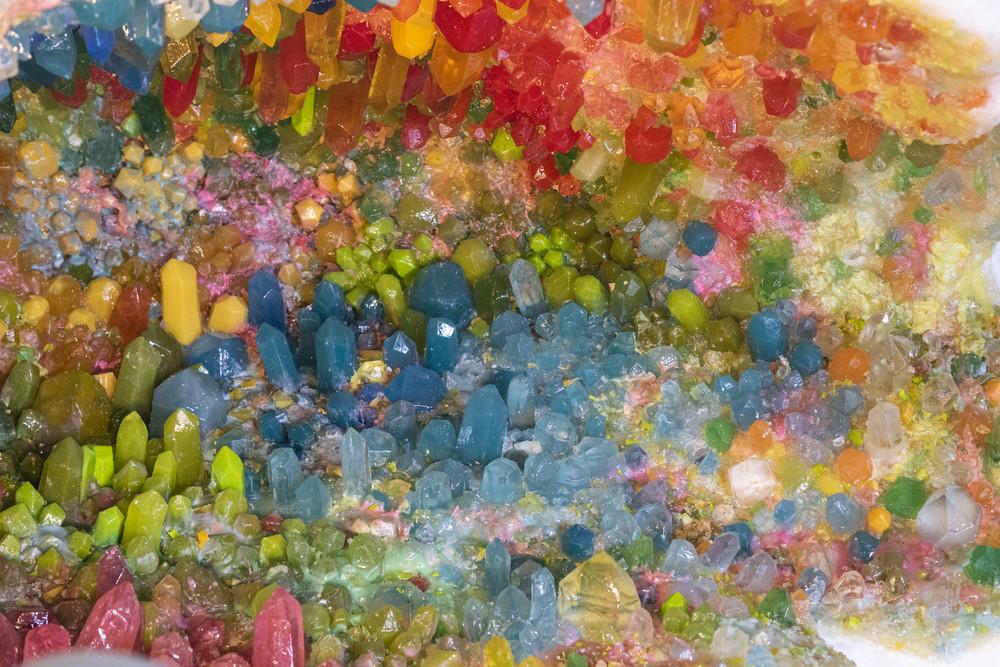 Les géodes de Sophie Langohr © Caroline Hannicq / Détail d'une géode