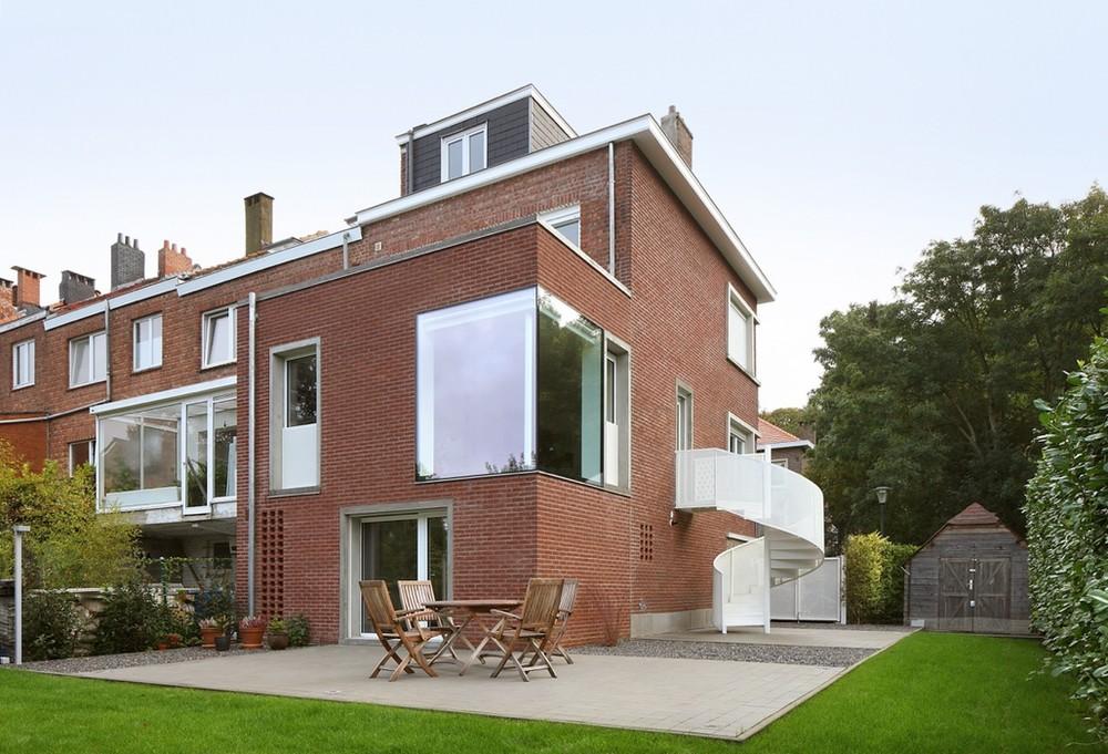 Archiurbain : adn architectures © adn - Maison à Uccle