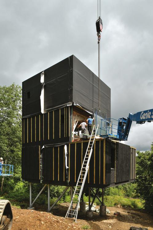 Archiurbain : HOSOMI (Dethier Architecture) © Serge Brison / Dethier Architecture