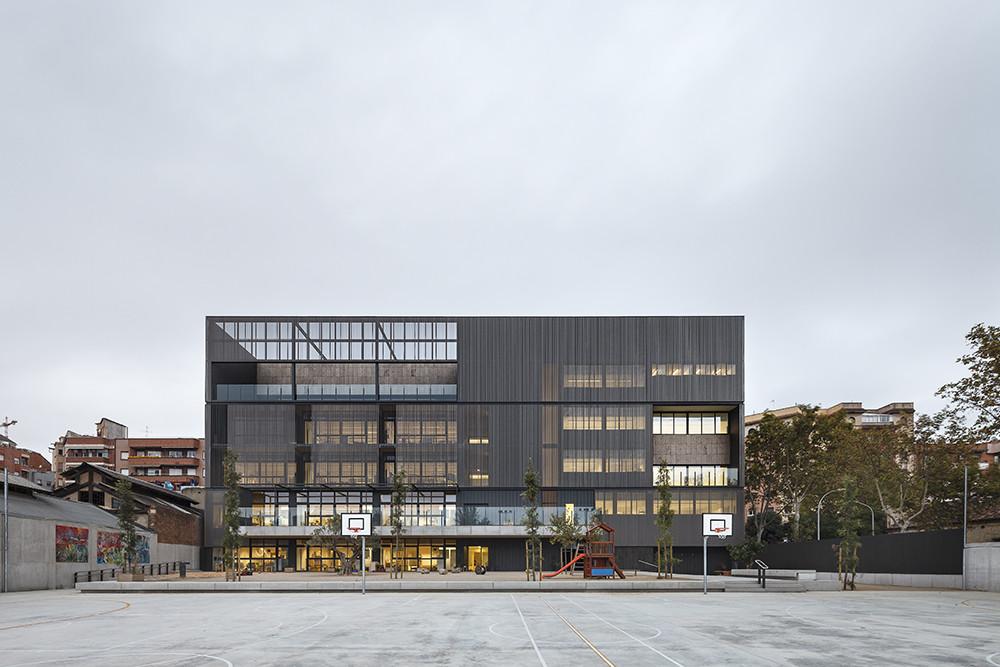 Ecoutez Cities Connection Project (2/2) © Marcela Grassi / Els Encants School, Barcelona, arch. Roger Mendez - AMB, 2015