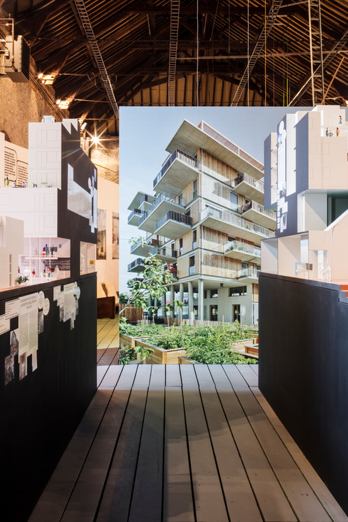 Ecoutez la nouvelle architecture communautaire © Tim van de Velde / CID