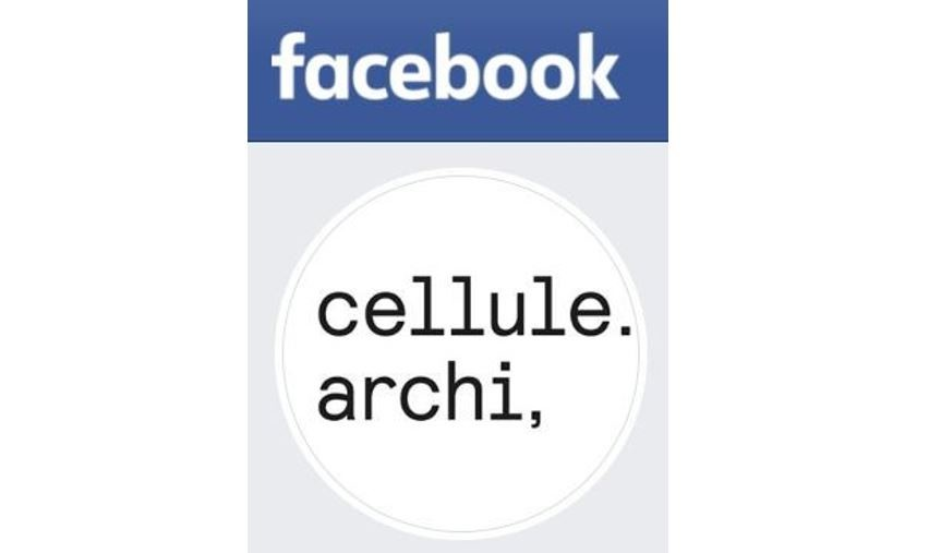 Rejoignez la Cellule archi sur facebook