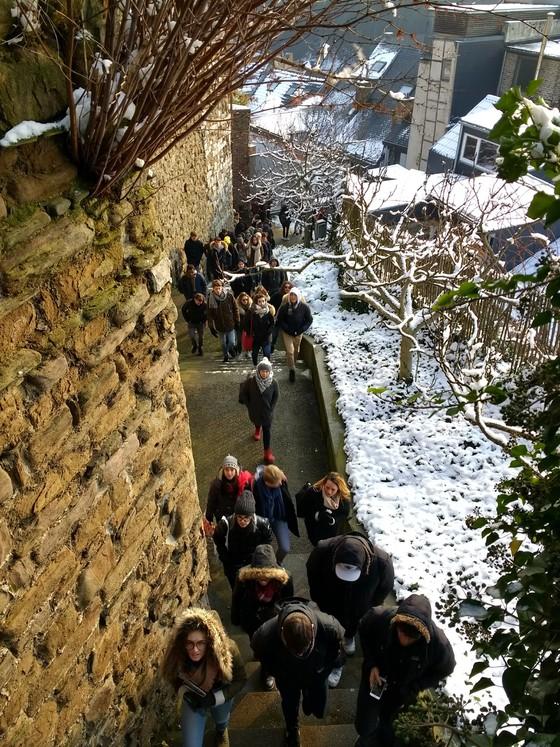 L'HEPIA de Genève en visite en Wallonie et à Bruxelles © Cellule.archi / Coteaux de la Citadelle