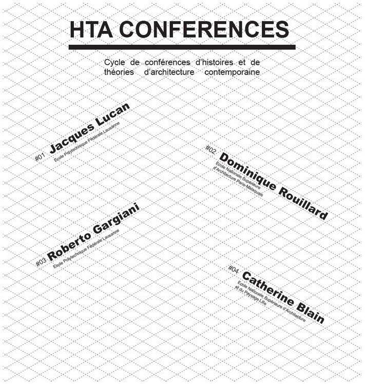 Histoires et théories d'architecture contemporaine