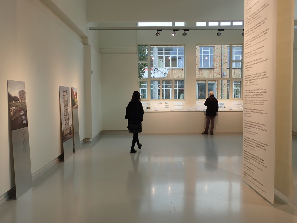 Écoutez l'ICA-WB © Cellule.archi / ICA-WB, exposition inaugurale, 2019