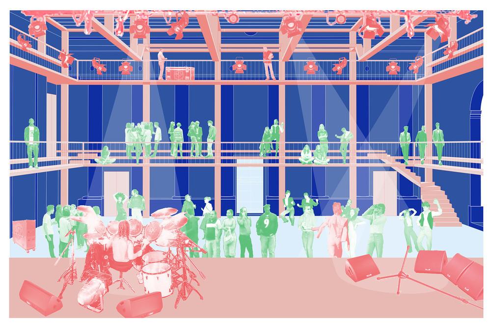 Ecoutez Coralie Van Pottelsberghe, la rénovation du Botanique, Bento Architecture et