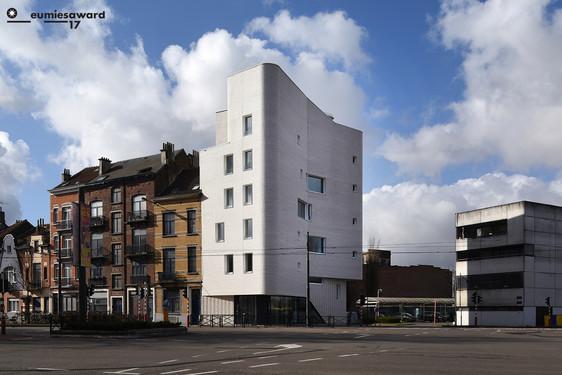 Première belge au Prix d'architecture de l'UE © Serge Brison / Logements Navez à Schaerbeek
