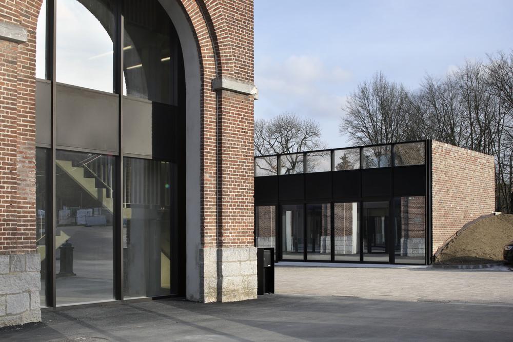 Écoutez les Centres ADEPS © Maxime Delvaux / Label architecture, Centre ADEPS Loverval, 2019