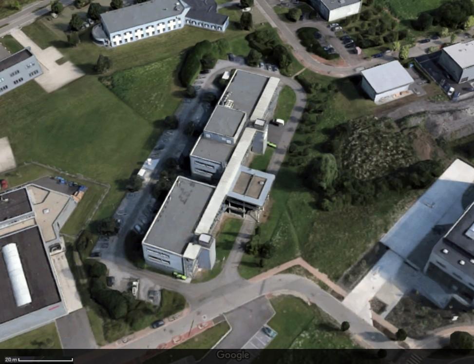 Restructuration des locaux de Materia Nova © Droits réservés