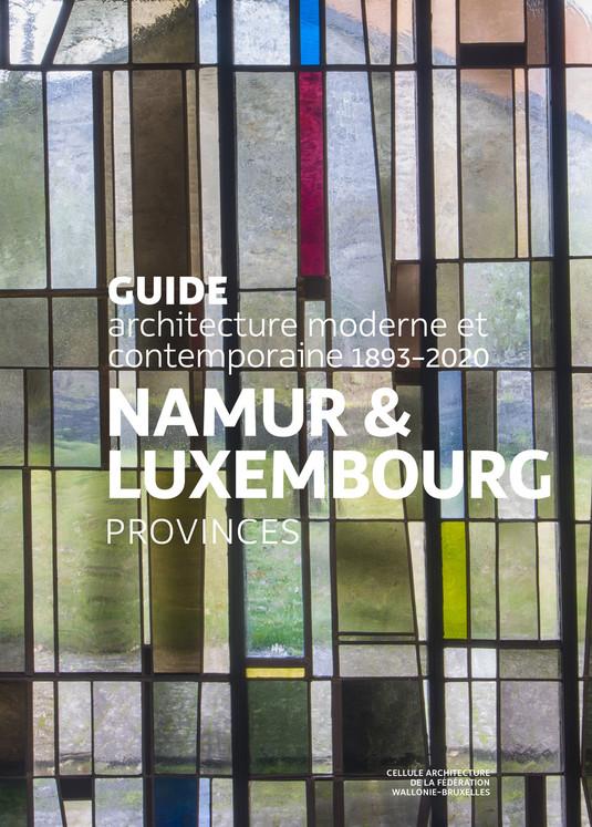 Sortie du Guide d'architecture Namur & Luxembourg