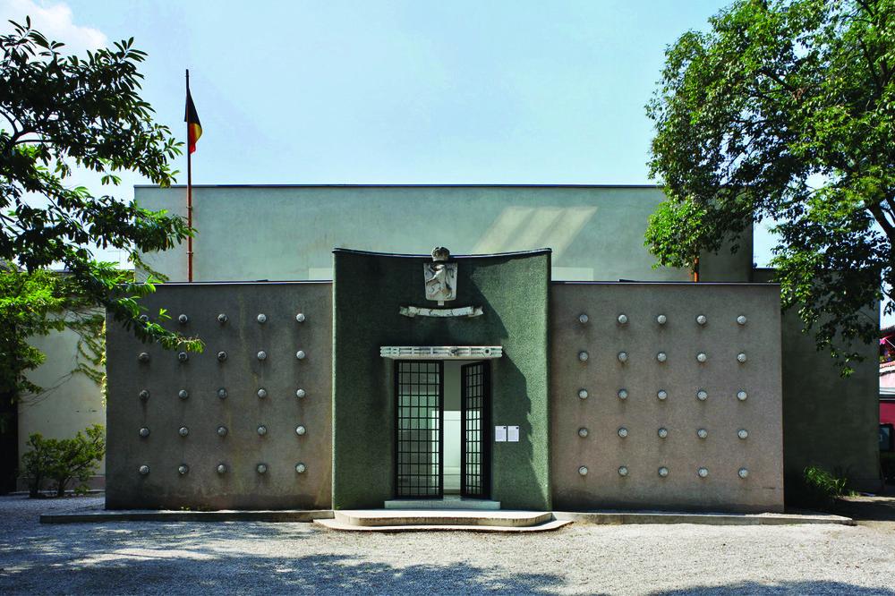 Appel pour la Biennale d'art en 2019 © Maxime Delvaux / La Biennale di Venezia, Giardini, Pavillon de la Belgique