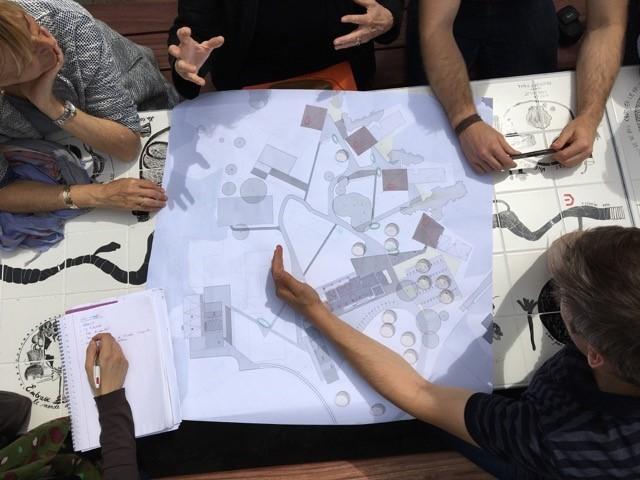 Écoutez la mue de l'IPPJ © AA Daniel Delgoffe / réunion de travail à l'IPPJ de Fraipont