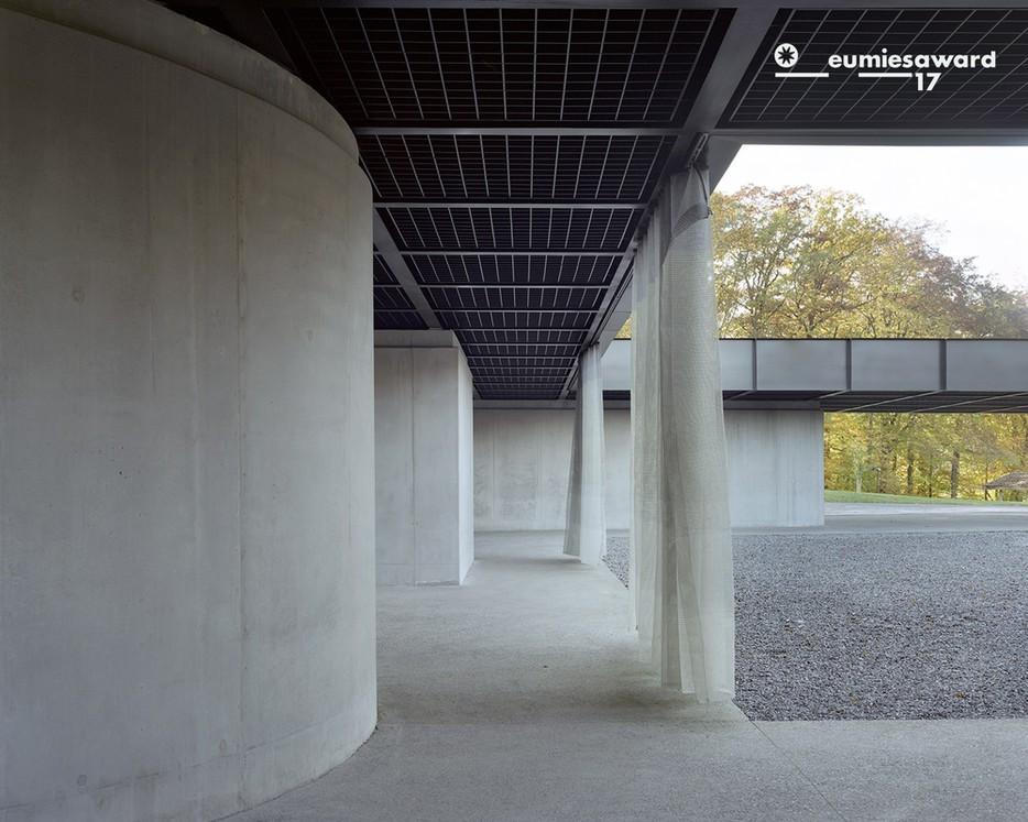 La Fraineuse dans le top 40 de l'architecture européenne © Maxime Delvaux