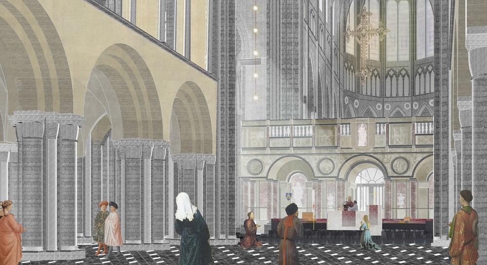 Un nouveau mobilier pour la Cathédrale © AHA