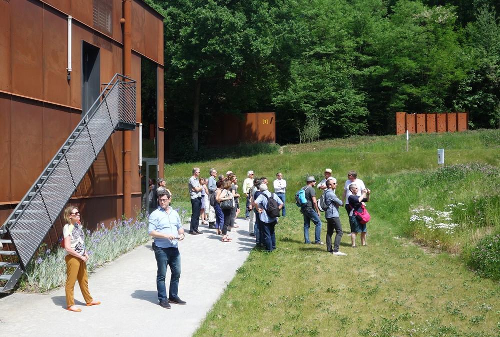 La Bourgogne en visite architecturale © M.-A. Perche / MA Bourgogne au Préhistomuseum de Ramioul, mai 2017