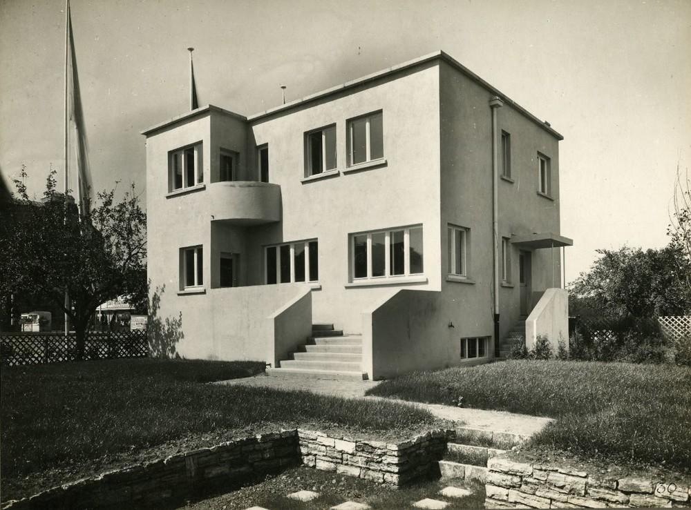 Écoutez la Belgique et le Bauhaus © CIVA, Brussels / Victor Bourgeois, Weissenhof, 1927