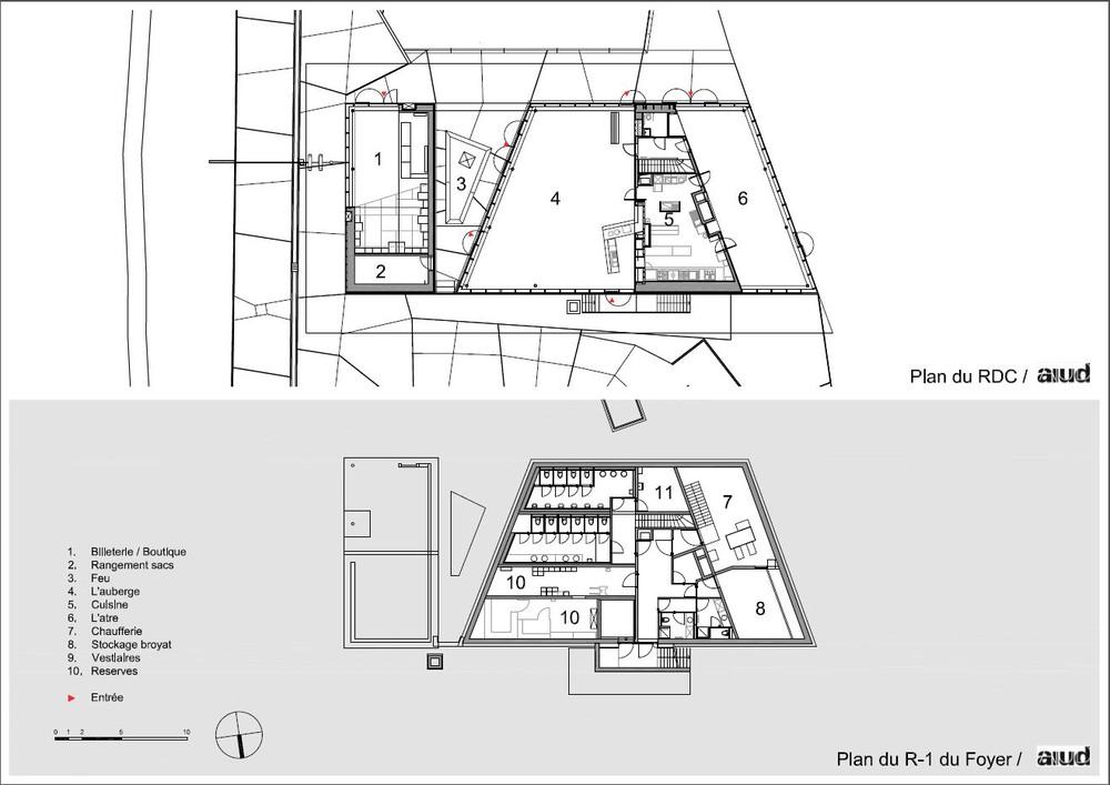 Foyer, plans