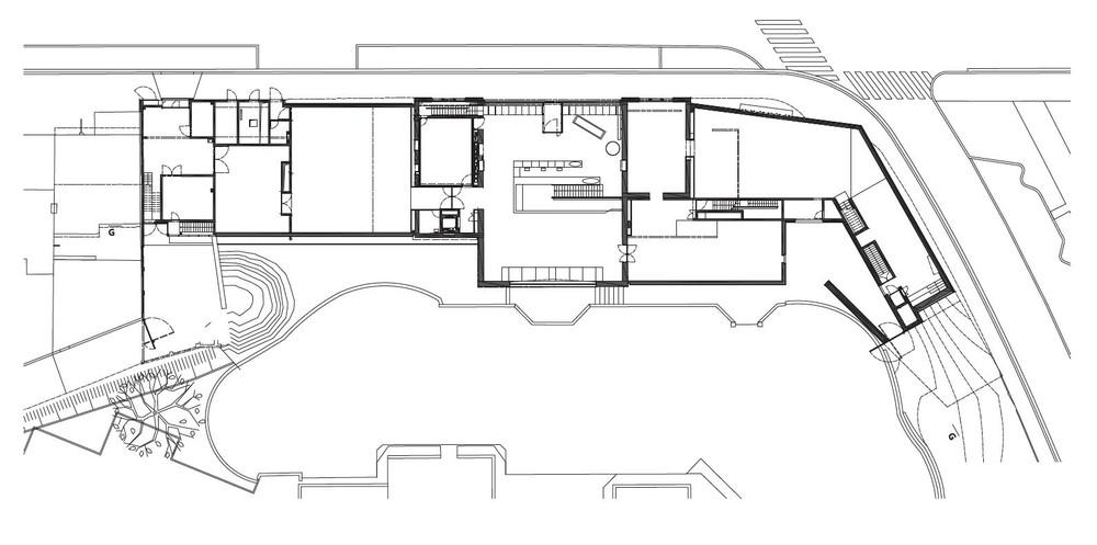 Mons Memorial Museum, plan rdc