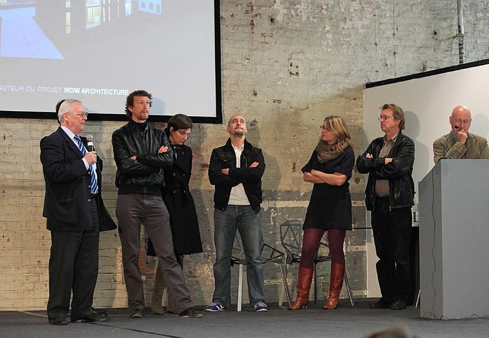 Logements sociaux « Savonnerie Heymans », Bruxelles, équipe