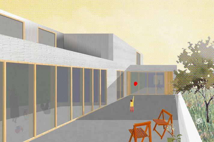 Architectural Policies Conference Estonia / Forum pour une politique québécoise de l'architecture © LPP - Pigeon-Ochej / Il n'y a pas de petits projets : crèche de Walcourt, 2016-en cours
