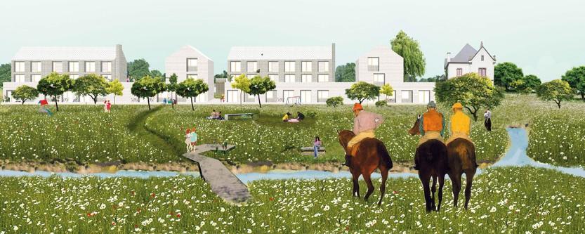 Ledroit-Pierret-Polet architectes / Pigeon Ochej Paysage