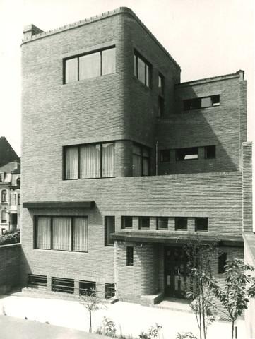 Hôtel Wolfers, façade sud vers 1935